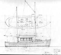 northcoast 34 sail assisted motor vessel power boat designs by