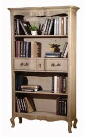 provincial timber bookcase furnish online
