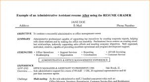 career objective examples admin assistant