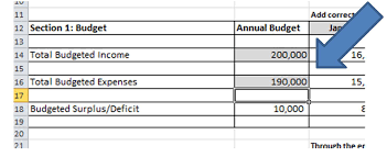 Annual Operating Budget Template fcyo