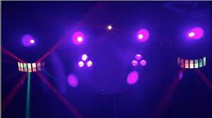 guitar center dj lights chauvet dj gigbar 2 youtube