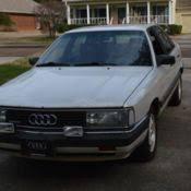 audi 5000 for sale 1987 audi 5000 quattro s sedan 4 door 2 3l for sale in glendale