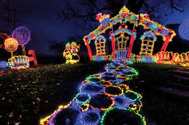 Christmas House Light Show by Rock City U0027s Enchanted Garden Of Lights Yeah Lets Go Atlanta