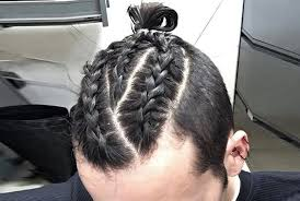 5 bun braid hairstyle for men mensok com