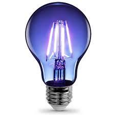 blue free light bulbs feit electric a19 tb led a line filament led bulb 3 6 watts 120