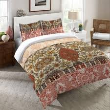 ink ivy nia spice cotton duvet cover mini set free shipping