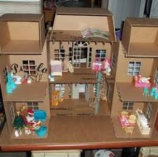 Modistamodesta Another Large Barbie House by Brooklyn U0027s Loft Dollhouse Terrace Dollhouses And Doll Furniture