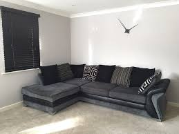 Large Corner Sofa Large Grey Corner Sofa Uk Home Design Inspirations