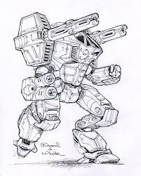 legacy mech sketch by mecha zone on deviantart