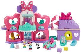 amazon com fisher price disney minnie mouse fabulous shopping