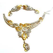 gold necklace sets designs images Gold necklace sets exporter from jaipur jpg