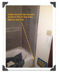 How To Install Tile Around A Bathtub Bathroom Remodeling The Smart Way Phase 4 Cement Board