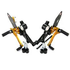 ducabike ducati monster 696 796 u0026 1100 rearsets with folding pegs