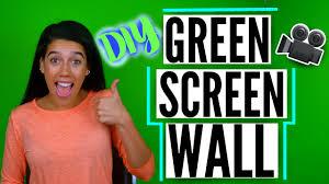 how to paint a green screen wall diy green screen miaaraay