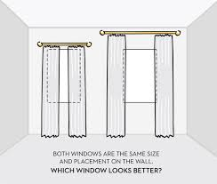 how to hang curtains white way