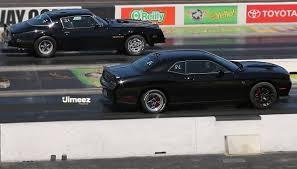 Trans Am 2015 10 87 Hellcat U002715 Dodge Challenger Hellcat Vs U002776 455 Trans Am