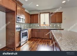 new 2015 american middle class kitchen stock photo 301898546