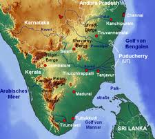 tamil nadu map outline of tamil nadu