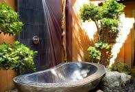Outdoor Shower Mirror - best outdoor shower ideas images on showers outsideathroom scenic