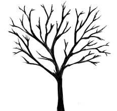 lone black tree by skullcroos on clipart library clip library