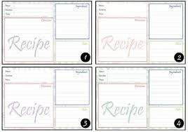 download free printable recipe card buckwheat for your health