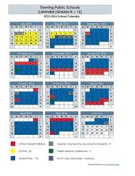 proposed dps calendar grades k 12 2015 2016 calendar