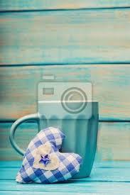 affiches cuisine cuisine tasse de thé avec lornement darbre de noël sur la affiches