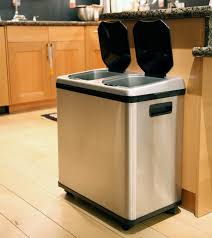 kitchen trash can ideas wood cool mint lasalle door kitchen trash can ideas sink