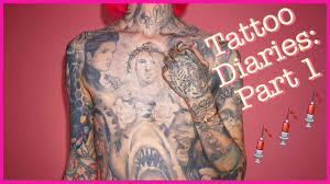 the jeffree star tattoo diaries part 1 youtube