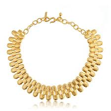 gold link necklace images Kenneth jay lane gold link necklace hauteheadquarters jpg