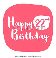 happy 12th birthday card brush lettering stock vector 404983843