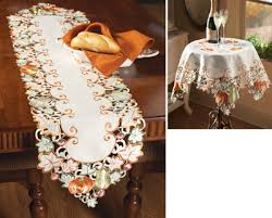 autumn harvest table linens autumn harvest diecut decorative table linens from collections etc