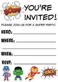 free printable birthday invitations for kids free printable