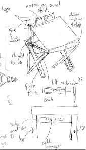 build a drafting table diy hardwood drafting drawing table