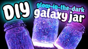 DIY Fairy Galaxy Glow Jar Easy DIY Glow In The Dark  YouTube