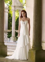 Outdoor Wedding Dresses Bridal Dresses For Summer Outdoor Weddings 2017 Collection