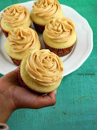 nitha kitchen perfect vanilla cupcakes with butterscotch butter