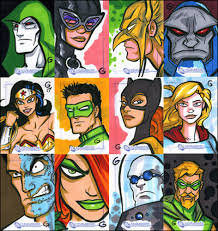 dc legacy sketch cards by grantgoboom on deviantart