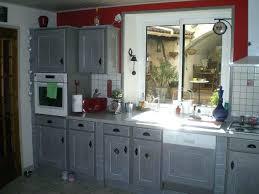 peindre sa cuisine en repeindre cuisine en gris awesome repeindre sa cuisine en bois en