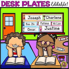 Name Tag On Desk Best 25 Desk Name Plates Ideas On Pinterest Teacher Name Plates