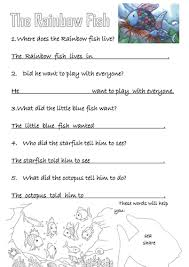 the rainbow fish by rjwatt 1 teaching resources tes