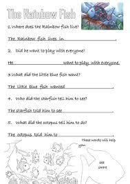 rainbow fish activities bo 54 teaching resources tes