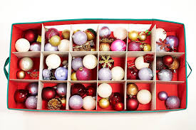 36 compartment christmas bauble ornament decorations storage box u0026 or