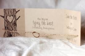 rustic save the date cards tying the knot rustic save the dates rustic wedding save the