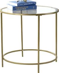 Mirrored Accent Table Side Table Silver Pedestal Side Table Hand Painted Silver
