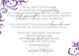 Poem For Wedding Bathroom Basket Bathroom Amenity Basket Wedding Bathroom Basket Ideas Wedding