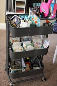 raskog cart ideas 21 ways to use your raskog cart to organize your scrapbook supplies