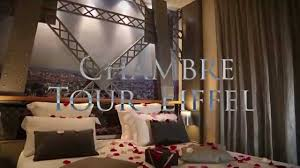 room eiffel tower hotel design secret de paris youtube