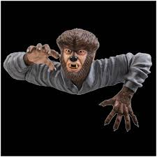 universal studios the wolf man life size prop from mad about horror