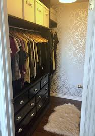 Wallpaper Closet Adding Style To A Boring Closet With Walls Republic A Purdy